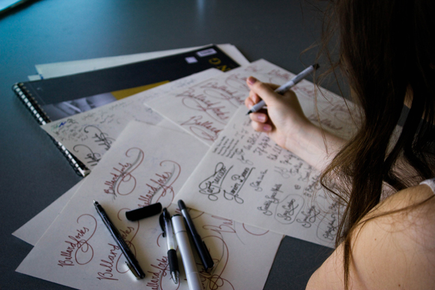 Design Process: Hand Lettering from Inspiration
