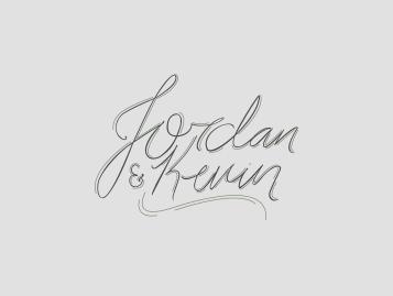 Jordan & Kevin Wedding Invitation
